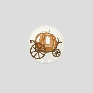 Pumpkin Carriage Mini Button