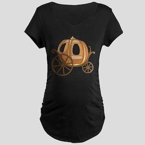 Pumpkin Carriage Maternity T-Shirt