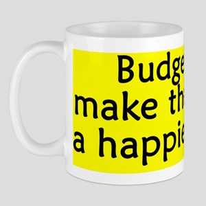 happyplace_budgie Mug