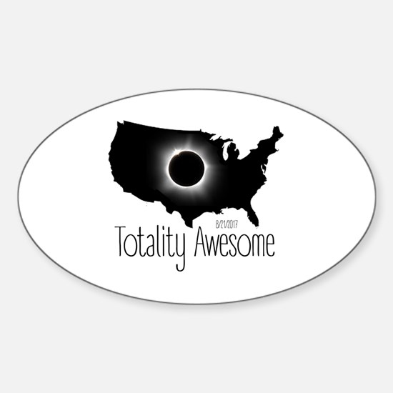 Total Sticker (Oval)