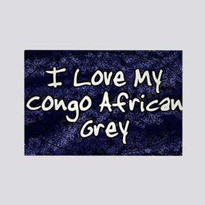 funklove_oval_congo Rectangle Magnet