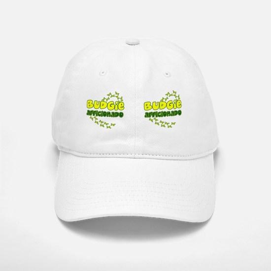 afficionado_budgie_mug Baseball Baseball Cap