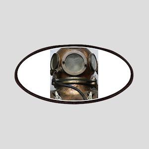 Antique vintage diving helmet Patch