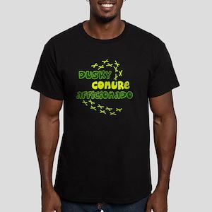 afficionado_duskyconur Men's Fitted T-Shirt (dark)