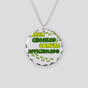 afficionado_greencheek Necklace Circle Charm