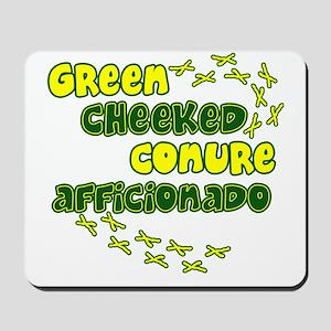 afficionado_greencheek Mousepad