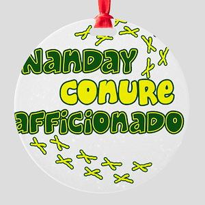 afficionado_nanday Round Ornament
