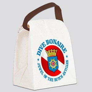 Dive Bonaire (rd) Canvas Lunch Bag