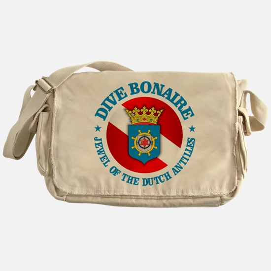 Dive Bonaire (rd) Messenger Bag