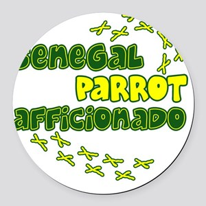 afficionado_senegal Round Car Magnet