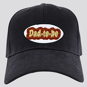 Dad-to-be (woodgrain style) Black Cap