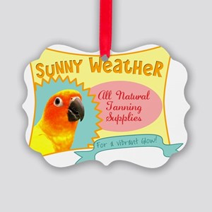 sunnyweather Picture Ornament