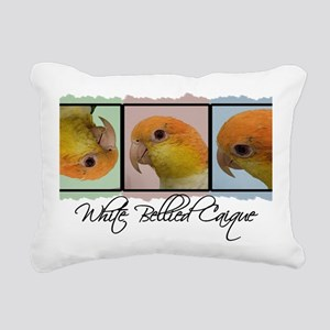 colorrow_whitebelly Rectangular Canvas Pillow