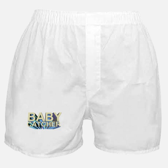 Baby catcher - for midwives -  Boxer Shorts