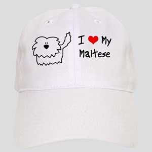maltese_fuzzy_bowl Cap