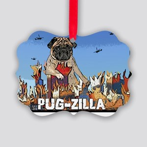 pugzilla Picture Ornament