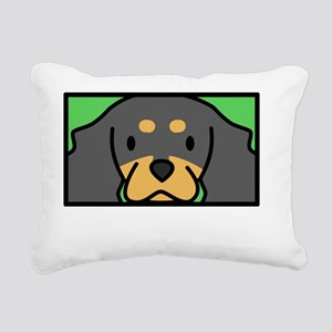 anime_cav_bt_blk Rectangular Canvas Pillow