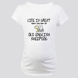 lifeisgreat_oes Maternity T-Shirt