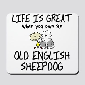 lifeisgreat_oes Mousepad
