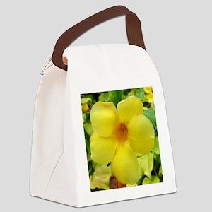 yellowflower_mousepad Canvas Lunch Bag