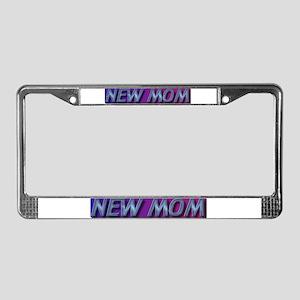 New mom gift License Plate Frame