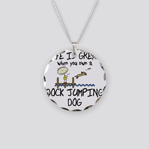 lifeisgreat_dockjumping Necklace Circle Charm