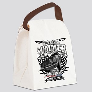 CAR SHOW 2017 Canvas Lunch Bag