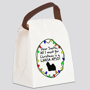 ds_lhasa Canvas Lunch Bag