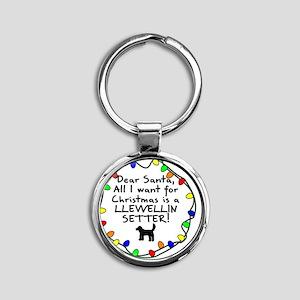 ds_llewellin Round Keychain