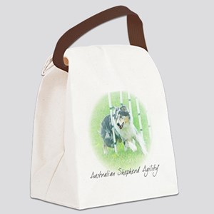 aussie_agility Canvas Lunch Bag