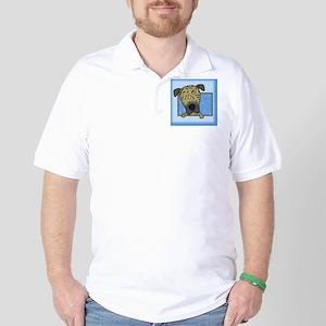 greatdane_drawing_tile Golf Shirt