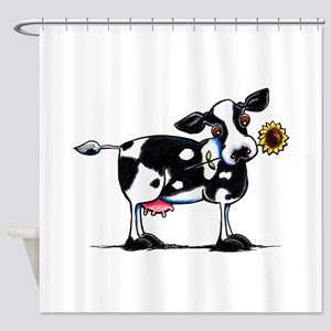Sunny Cow Shower Curtain