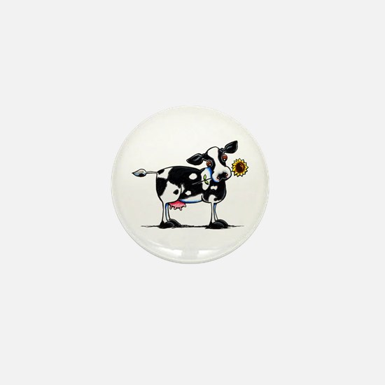 Sunny Cow Mini Button