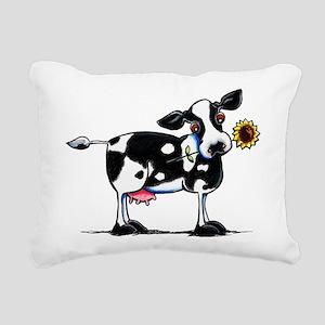 Sunny Cow Rectangular Canvas Pillow