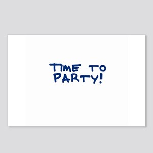 Time to Party! Postcards (Package of 8)