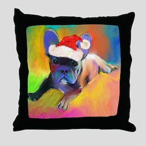 French Bulldog 2  Throw Pillow