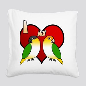 iheartmy_customcaique Square Canvas Pillow