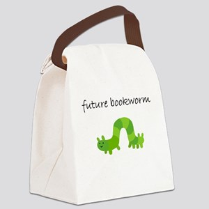future bookworm Canvas Lunch Bag