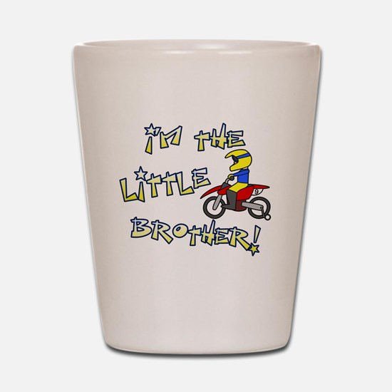 moto_littlebrother Shot Glass