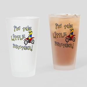 moto_littlebrother Drinking Glass
