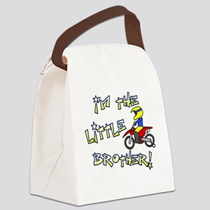 moto_littlebrother Canvas Lunch Bag