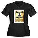 WANTEDPOSTER Plus Size T-Shirt