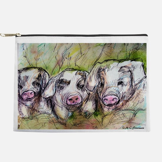 Piglets, Animal art! Makeup Pouch
