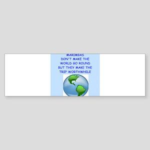 marimbas Bumper Sticker
