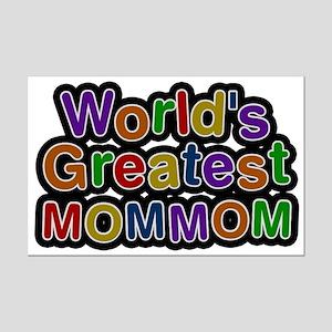 World's Greatest Mommom Mini Poster Print