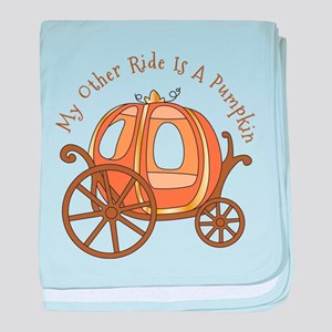 My Other Ride baby blanket
