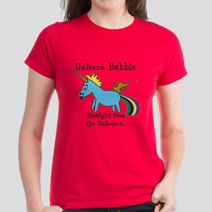 Unicorn babble - black letters T-Shirt