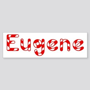 Eugene - Candy Cane Bumper Sticker