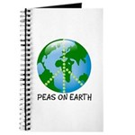 Peace Peas on Earth Christmas Journal