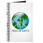 Peace Peas on Earth Christmas Journal